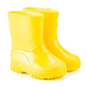 Сапоги детские, цвет жёлтый, размер 22