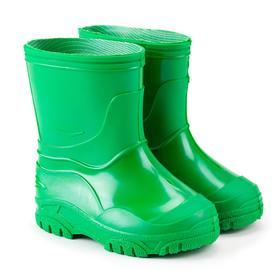 Сапоги детские, цвет зелёный, размер 22