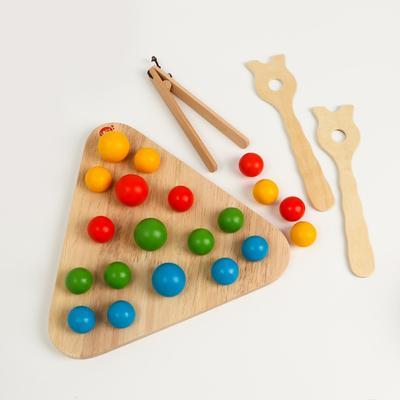 Деревянная игрушка «Магический треугольник» - Фото 1