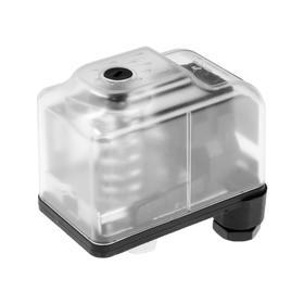 Реле давления TIM PS-06B, накидная гайка 1/4', 1.4-2.8 бар, прозрачный корпус, шкала Ош