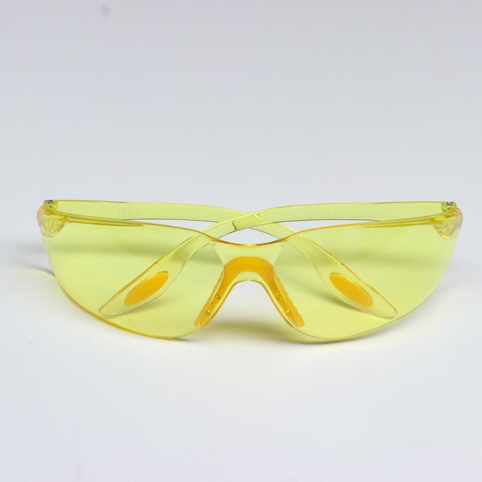 Защитные очки открытого типа желтые