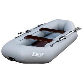 Надувная лодка FORT 260 LT, цвет серый Ош