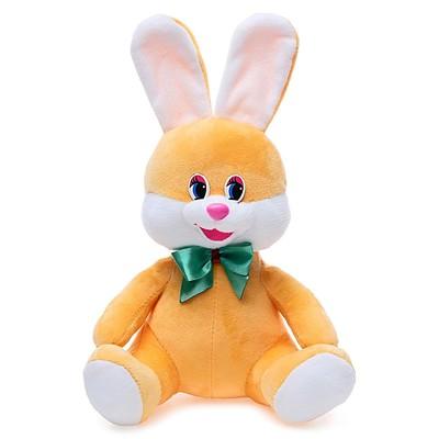 Мягкая игрушка «Заяц с бантом», 20 см, МИКС - Фото 1