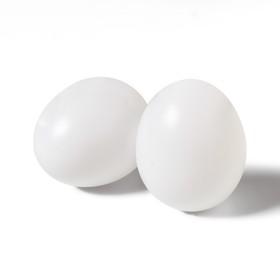 Яйцо искусственное, белое, 1 шт. Ош