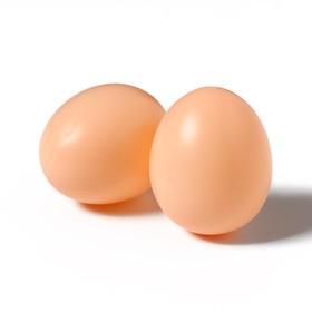 Яйцо искусственное, коричневое, 1 шт. Ош