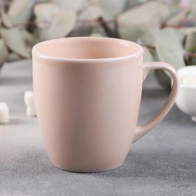 Кружка Башкирский фарфор «Акварель», 270 мл, цвет розовый