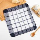 Кухонное полотенце Collorista 30*30 см, цв.синий