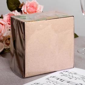 Салфетки бумажные Greena, 1 слой 100 листов 24х24