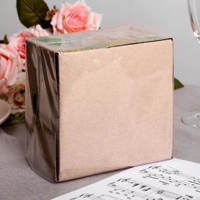 Салфетки бумажные Greena 2 слоя 85 листов 24х24