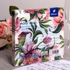 Салфетки бумажные Перышко Prestige пурпур, 3 слоя 20 листов 33х33 - Фото 3