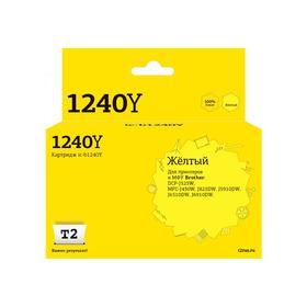 Струйный картридж T2 IC-B1240Y (LC-1240Y/LC1240BK/LC1240/1240) Brother, желтый Ош