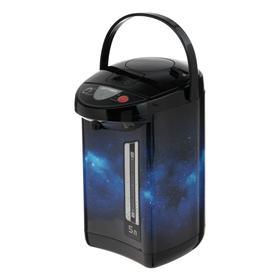 Термопот OPTIMA AP-503S, 5 л, 900 Вт, чёрно-синий