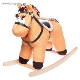Качалка «Конь Свэн» не музыкальная, цвет коричневый