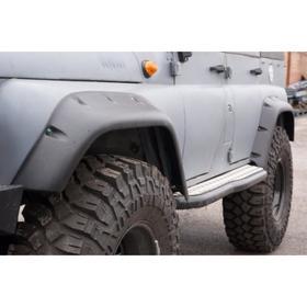 Расширители колёсных арок УАЗ Хантер (передние 105 мм, задние 95 мм) Ош