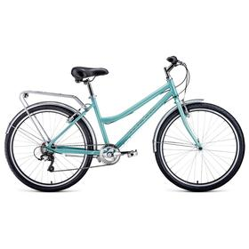 "Велосипед 26"" Forward Barcelona Air 1.0, 2021, цвет мятный/бежевый, размер 17"""