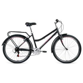 Велосипед 26' Forward Barcelona Air 1.0, 2021, цвет серый/розовый, размер 17' Ош