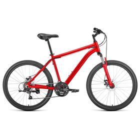 """Велосипед 26"""" Forward Hardi 2.0 disc, 2021, цвет красный, размер 17"""""""