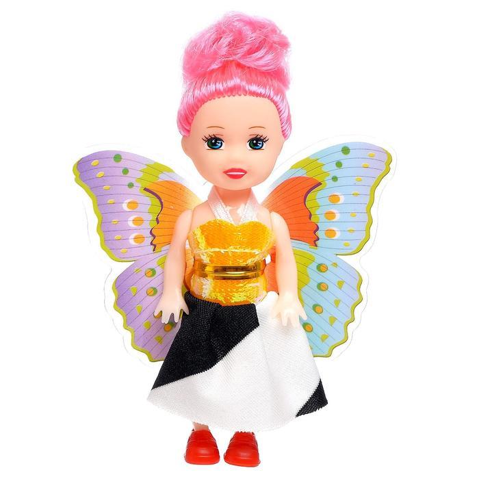 Кукла малышка с крыльями, МИКС