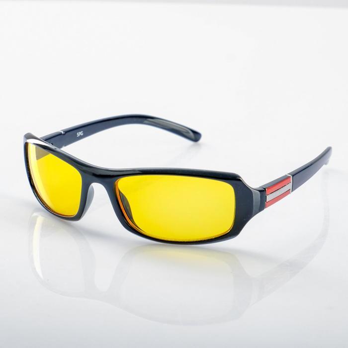 Водительские очки SPG «Непогода | Ночь» premium, AD043 черные
