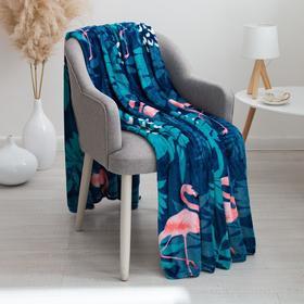 Плед «Аделис» Фламинго, размер 150х200 см