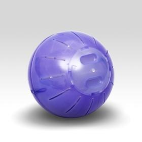 Шар для грызунов ,12 см, фиолетовый Ош