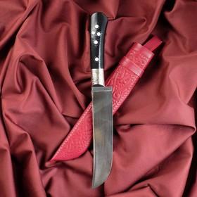 Нож Пчак Шархон - рукоять эбонит, клинок 15-17см