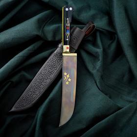 Нож Пчак Шархон - рукоять текстолит, клинок 17см