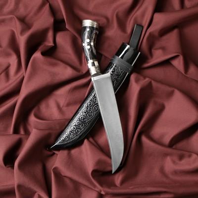 Нож Пчак Шархон - изогнутая рукоять, клинок 19 см - Фото 1