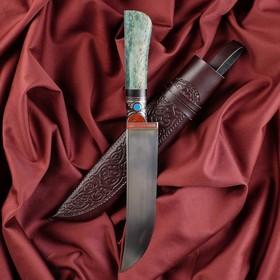Нож Пчак Шархон - рукоять кость, клинок 17см