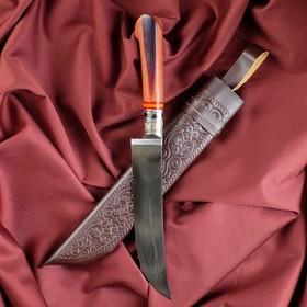 Нож Пчак Шархон - рукоять эбонит, клинок 17см