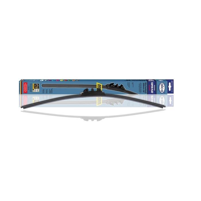 """Щетка стеклоочистителя SUPER FLAT 13""""/330 мм, бескаркасная, 043 000"""