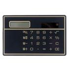 Калькулятор плоский, 8-разрядный, чёрный