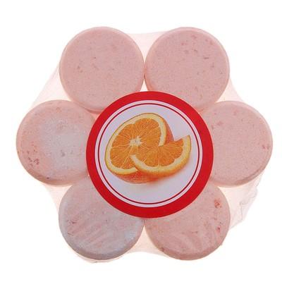 Средство для ванн ароматизированное шипучее Bodyfruit Апельсин (набор 7 табл.) - Фото 1