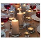 Тарелка для свечи ГЛАСИГ,10x10 см, стекло - Фото 3