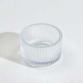 Подсвечник ФИНСМАК, 3.5 см, стекло