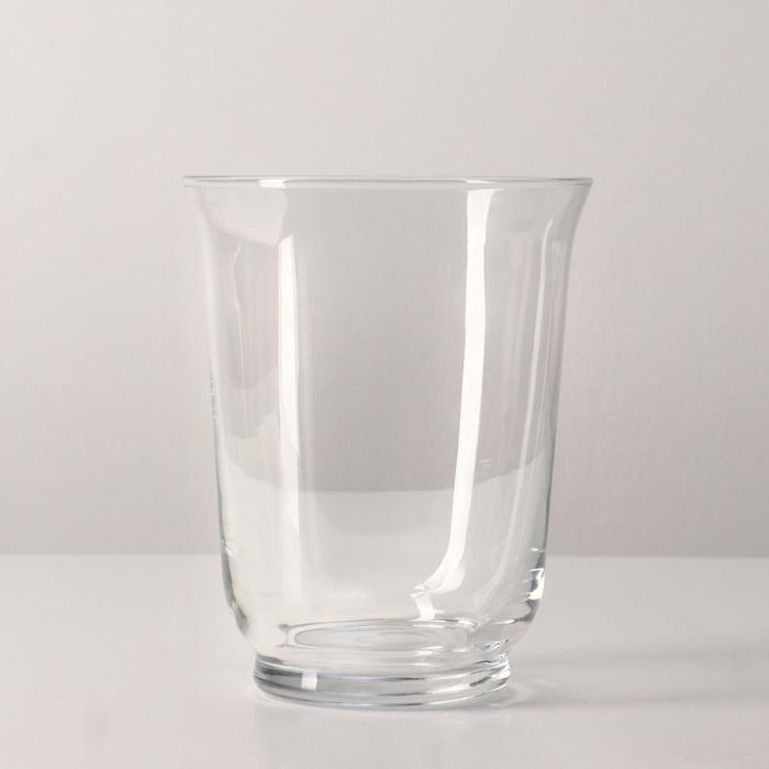 Ваза-подсвечник ПОМП, 18 см, стекло