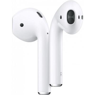 Наушники с микрофоном Apple AirPods (MV7N2RU/A), кейс для зарядки, белые - Фото 1