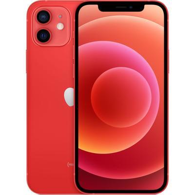 Смартфон Apple iPhone 12 (MGJ73RU/A), 64Гб, красный - Фото 1