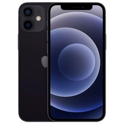 Смартфон Apple iPhone 12 mini (MGDX3RU/A), 64Гб, чёрный - Фото 1