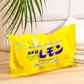Туалетное мыло, Kaneyo Lemon, с маслом лимона, кусок 45 г х 3 шт /