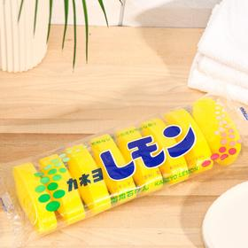 Туалетное мыло, Kaneyo Lemon, с маслом лимона  / кусок 45 г х 8 шт /