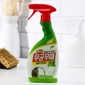 Чистящее средство для ванной Bisol, от плесени, с ароматом трав, 500 мл