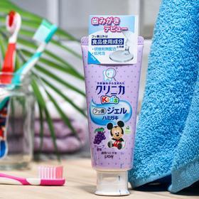 Детская гелевая зубная паста Lion Clinica Kid's gel, укрепляющая, виноград, 60 г