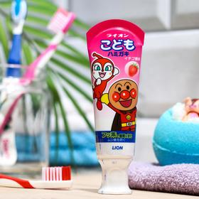 Детская зубная паста Lion kid's, слабообразивная, клубника, 40 г