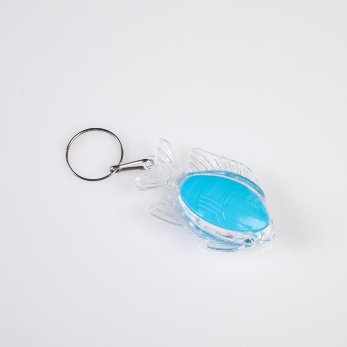 Фонарь детский Рыба, 2 AG13 4.5х2.3 см, микс