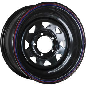 Диск штампованный Nissan/Toyota 8x15 6x139.7 ET-25 d110 Black Ош