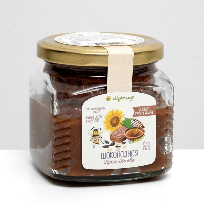 Крем-халва шоколданая, 400 г