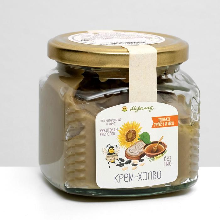 Крем-халва (урбеч+мёд), 400 г