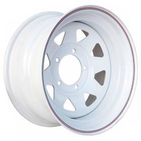 Диск штампованный Nissan/Toyota 8x15 6x139.7 ET-25 d110 White Ош