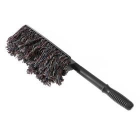 Щетка для удаления пыли, 62 см, микрофибра, супер пушистый ворс 34×11 см Ош